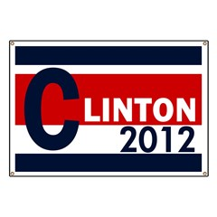 Clinton 2012 Banner for Hillary's Future