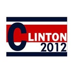 Clinton 2012 11x17 Poster Print