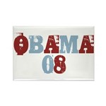 OBAMA 08 Rectangle Magnet (100 pack)