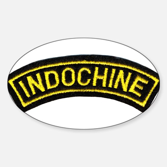 IndoChina Legion Oval Decal
