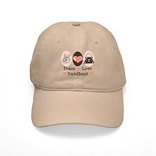 Peace Love Handbags Purse Baseball Cap
