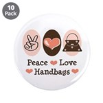 Peace Love Handbags Purse 3.5