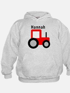 Hannah - Red Tractor Hoodie