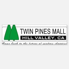 BTTF 'Twin Pines Mall' Bumper Car Car Sticker