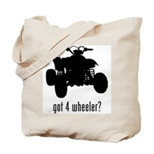 4 Wheeler Tote Bag