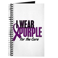 I Wear Purple For The Cure 10 Journal