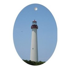 Cape May Lighthouse Keepsake (Oval)