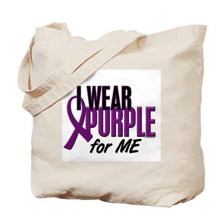 I Wear Purple For ME 10 Tote Bag