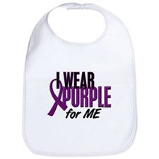 I Wear Purple For ME 10 Bib