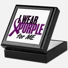 I Wear Purple For ME 10 Keepsake Box