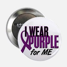 """I Wear Purple For ME 10 2.25"""" Button"""