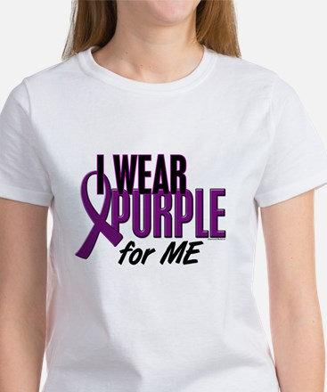 I Wear Purple For ME 10 Women's T-Shirt