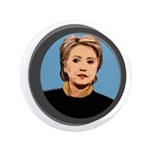 Hillary Clinton Wordless Big Icon Button