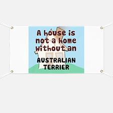 Australian Terrier Home Banner