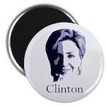 Hillary Clinton Portrait Magnet