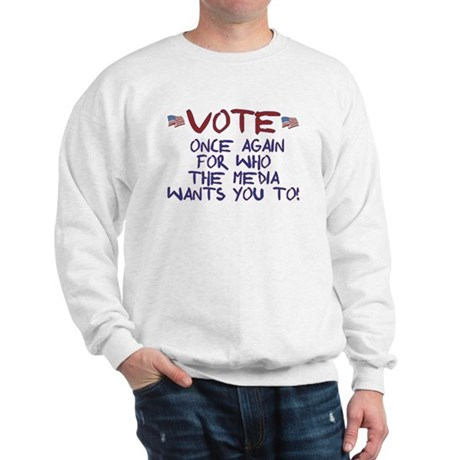 Election Media Endorsement Sweatshirt