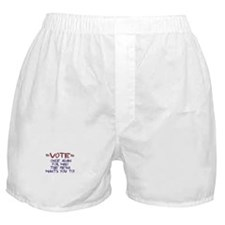 Election Media Endorsement Boxer Shorts