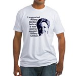 Clinton Before It Was Cool Fitted T-Shirt
