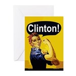 Rosie: Clinton! (6 Greeting Cards)