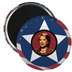 Hillary Clinton Star Campaign Magnet