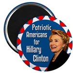 Patriots Americans for Clinton Magnet