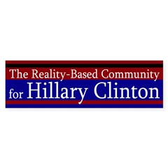 Reality-Based Community for Clinton