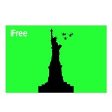 4th of July Magnets with the Statue of Liberty