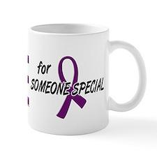 I Wear Purple For Someone Special 10 Mug