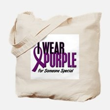 I Wear Purple For Someone Special 10 Tote Bag