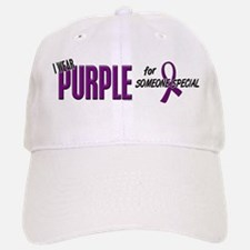 I Wear Purple For Someone Special 10 Baseball Baseball Cap