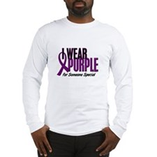 I Wear Purple For Someone Special 10 Long Sleeve T