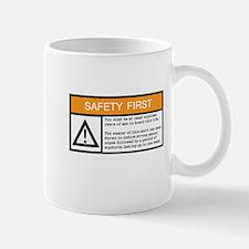 Safety First Mug