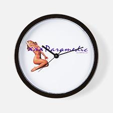 Medic Paramedic Pinup Wall Clock