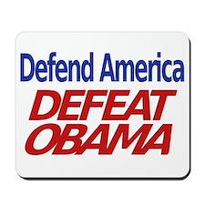 Defend America, Defeat Obama Mousepad