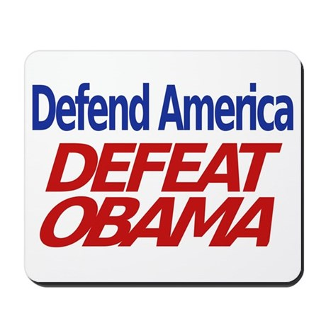 Defend America, Defeat Obama Mousepad