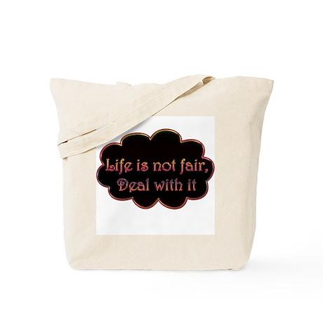 Not Fair Tote Bag