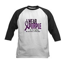 I Wear Purple For Fighters Survivors Taken 10 Tee