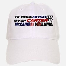 Bush 3 vs Carter 2 Baseball Baseball Cap