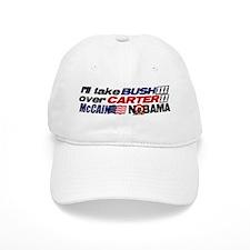 Bush 3 vs Carter 2 Baseball Cap