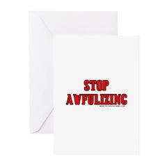 Stop Awfulizing Greeting Cards (Pk of 10)