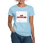 Stop Musturbation Women's Light T-Shirt