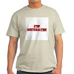 Stop Musturbation Light T-Shirt