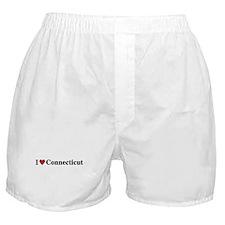 I Love Connecticut Boxer Shorts