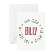 Billy Man Myth Legend Greeting Card