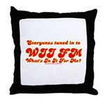 WII FM Throw Pillow