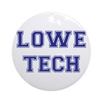 Lowe Tech Ornament (Round)