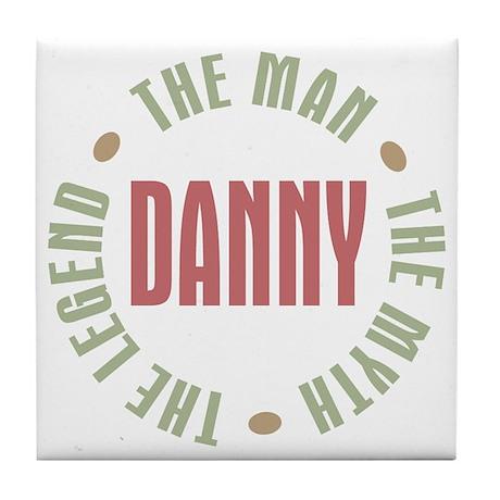 Danny Man Myth Legend Tile Coaster