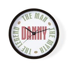 Danny Man Myth Legend Wall Clock