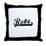 Softball REBT Throw Pillow