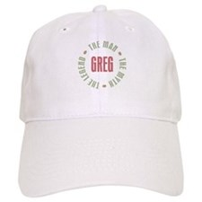 Greg Man Myth Legend Baseball Cap